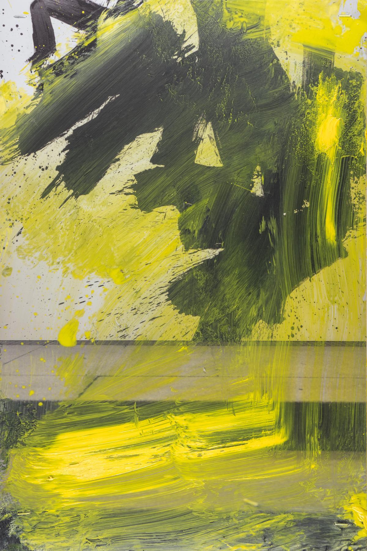 Serie pittura oscura – München / Afraid III