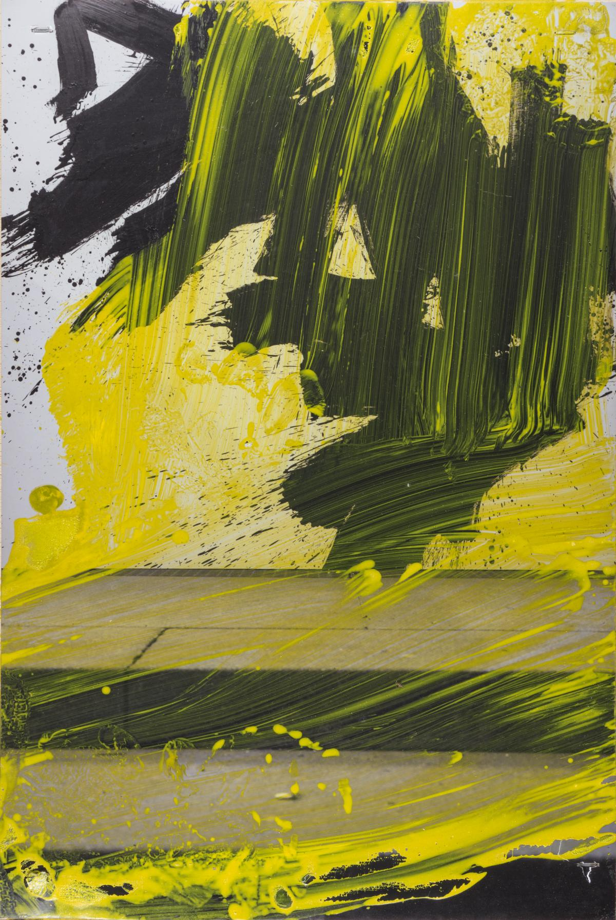Serie pittura oscura – München / Afraid IV