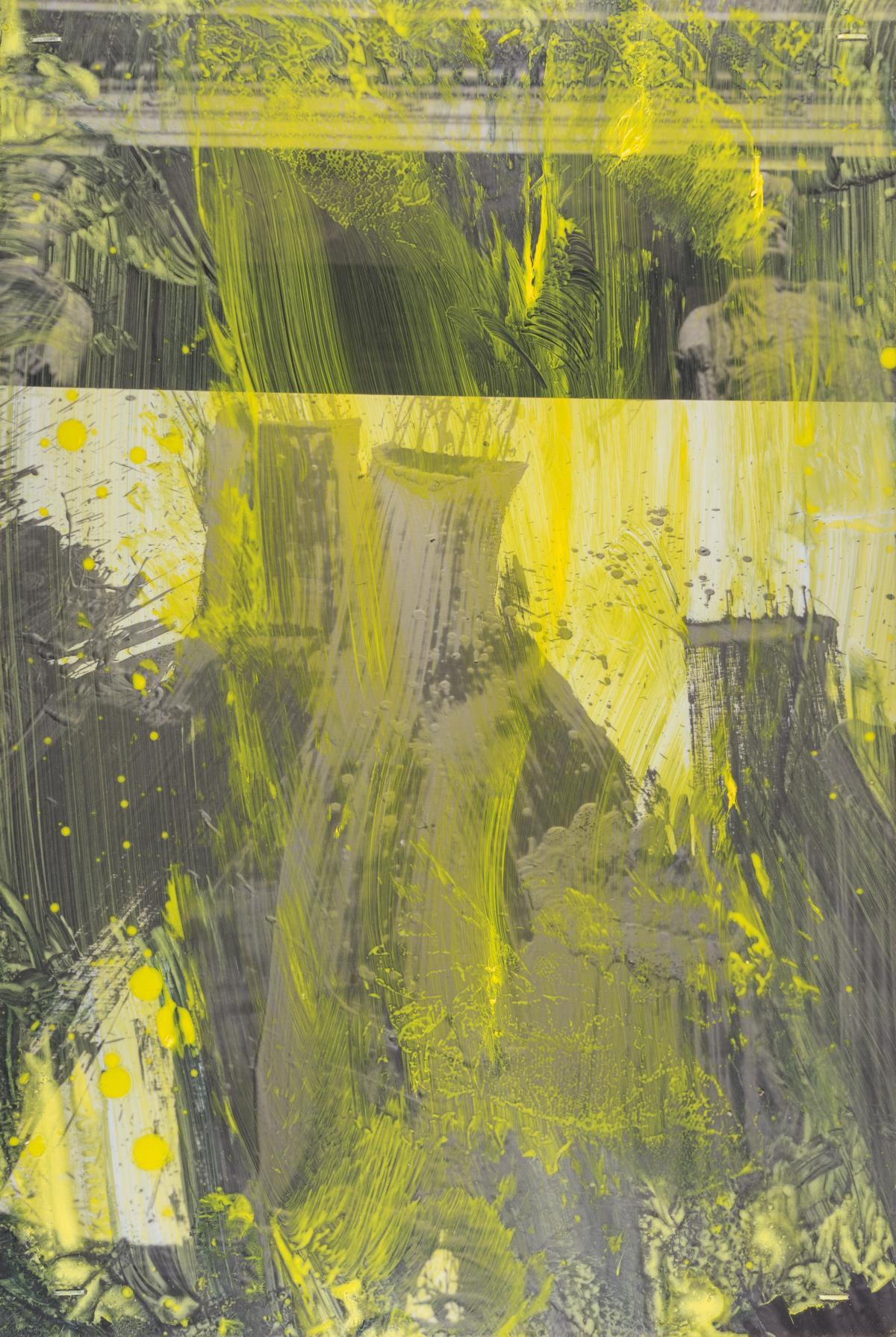 Serie pittura oscura – München / Angelous Novus II