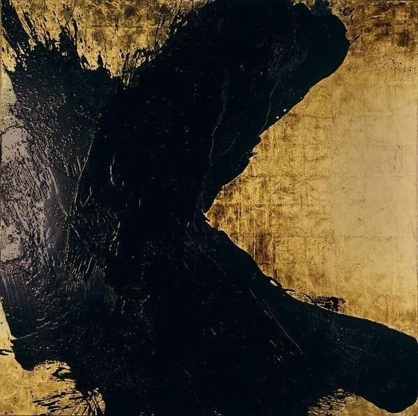 Serie bitumen gold / Himmel (3)