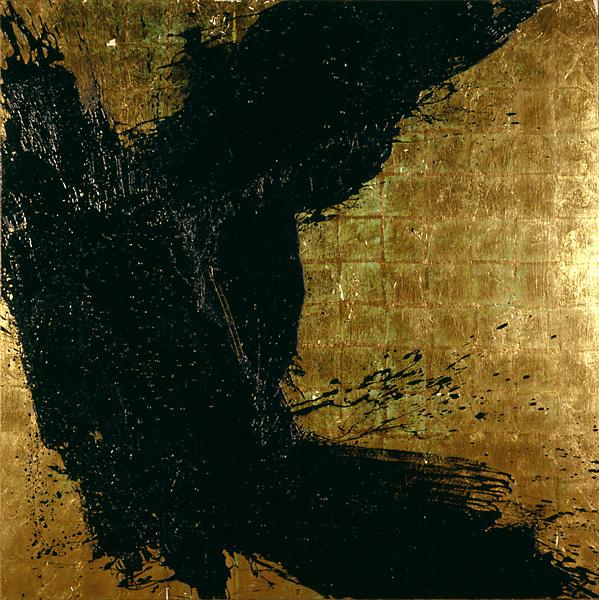 Serie bitumen gold / Himmel (2)