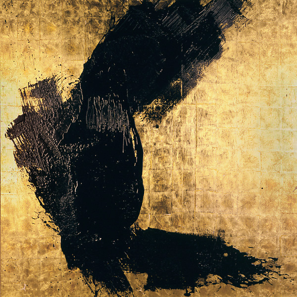 Serie bitumen gold / Himmel (1)