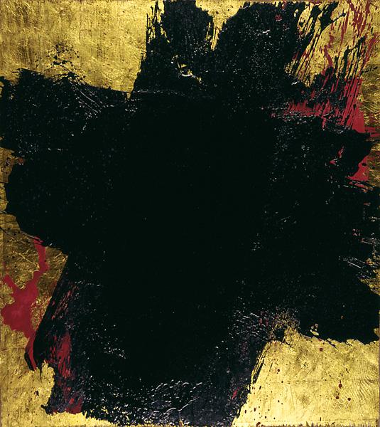 Serie bitumen gold / Kreuz (4)
