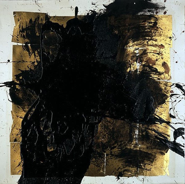 Serie bitumen gold / Kreuz (3)