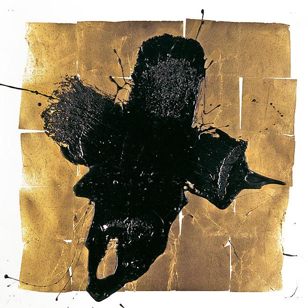Serie bitumen gold / Kreuz (7)