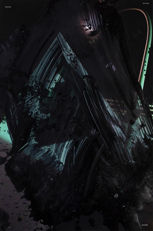 Foto - pittura oscura: Genius Loci IV