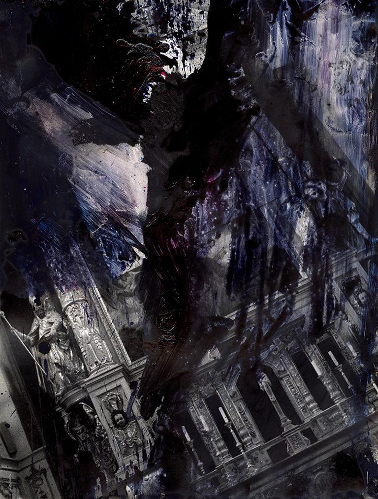 Photo - pittura oscura: Apokalyptischer Himmel