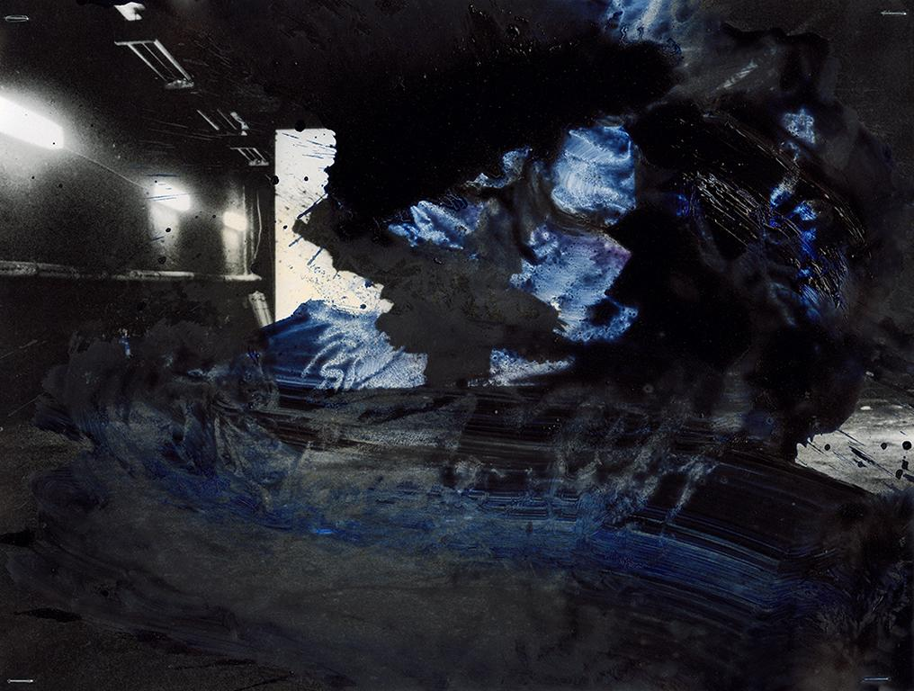 Photo - pittura oscura: Gefangen