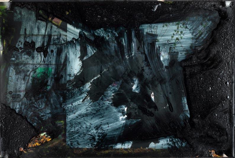 Photo - pittura oscura: Waldesruh I