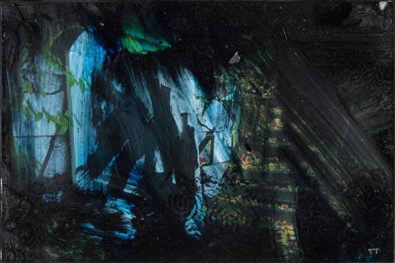 Photo - pittura oscura: Waldesruh II